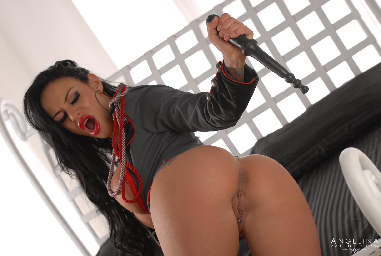 Angelina Valentine Gets Impaled By Mandingo's Massive Cock